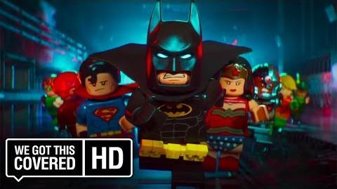 "The LEGO Batman Movie ""The Team"" TV Spot HD Will Arnett, Rosario Dawson, Ralph Fiennes"
