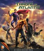 Justice League Throne of Atlantis Bluray