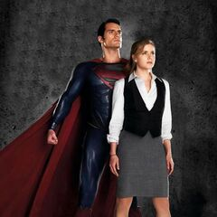 Superman and Lois Lane Promotional Image.