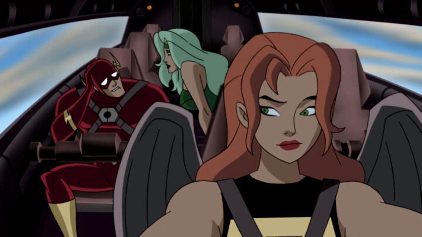 Image - Fire Flash Hawkgirl JLU.png | DC Movies Wiki ...