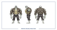 Solomon grundy body