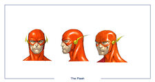 The Flash head