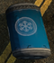 Blue cryo barrel