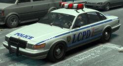 Der Polizei-Cruiser