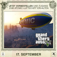 Blimp Luftschiff GTA V Aktion