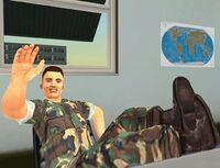 Jerry Martinez auf dem Fort-Baxter-Luftwaffenstützpunkt