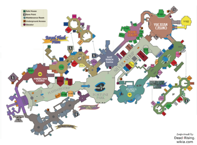Dead Rising 2 Map smaller