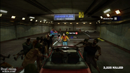 Dead rising maintence tunnel paradise plaza white car