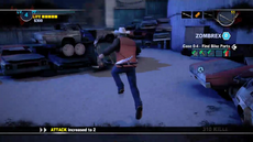 Dead rising 2 case 0 level up 4th after darcie
