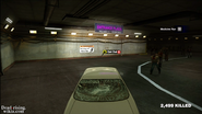 Dead rising pp maintence tunnel entrance plaza sign