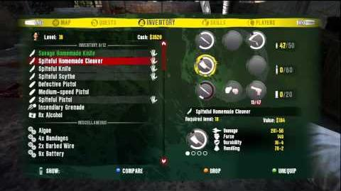 Dead Island Legendary Weapons Glitch