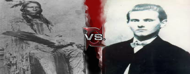 Crazy Horse vs Jesse James