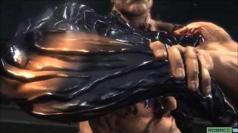 SAM vs ARMSTRONG ENDING CUTSCENE - Jetstream DLC - Metal Gear Rising Revengeance