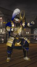 DOA5LR Samurai Warriors Costume Bass