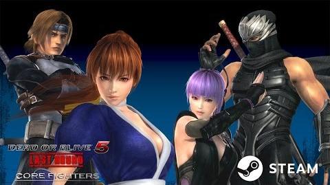 DEAD OR ALIVE 5 Last Round Core Fighters Trailer