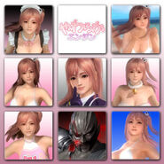 Dead or Alive 5 Last Round Avatar Set Volume 1
