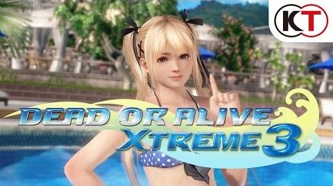 『DEAD OR ALIVE Xtreme 3』初出し!ショートムービー