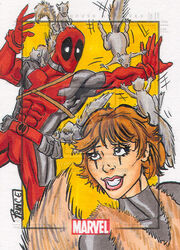 Squirrel girl vs deadpool by budprince-d4gkk10