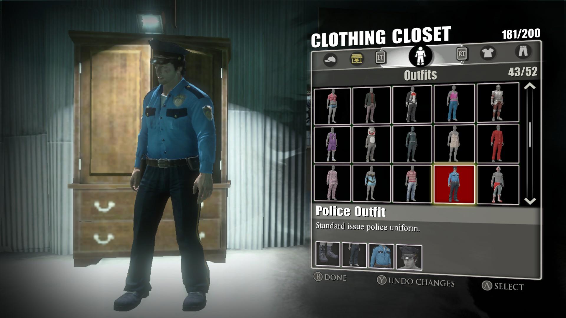 Где найти одежду в dead rising 3