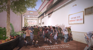 Dead rising Fortune City Emergency Shelter