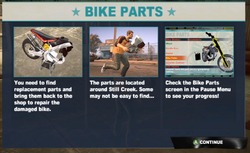 Dead rising case 0 intro bike parts