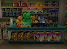 Children's Castle Toy Display