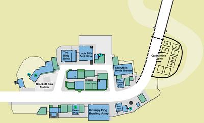 Case zero second floor map