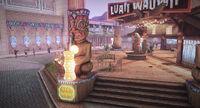 Dead rising Luaii Wauii statue