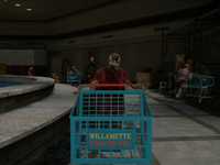 Dead rising shopping cart zombie