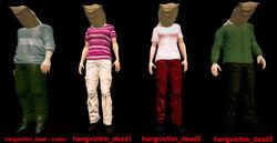 Dead rising hangvictim hangman all 4