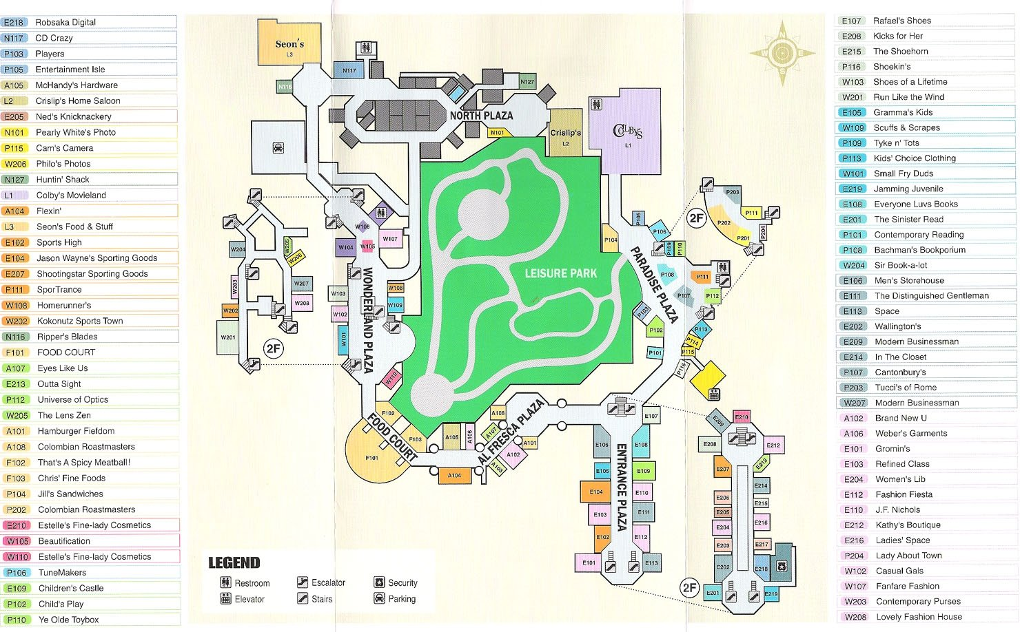 Dead Rising Pictures Dead Rising Mall Map Dead