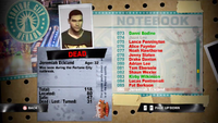 Dead Rising jeremiah notebook
