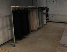 Weber's Garments Clothing Display