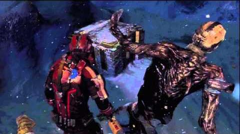 Dead Space 3 Twitcher Death Scene