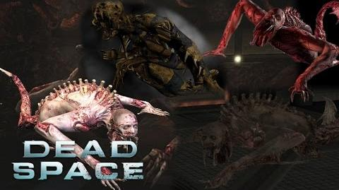 Dead Space 1-3 - Leaper Sound Effects HD