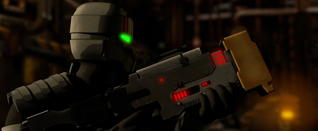 Dead Space 3 Rifle LightningRifle