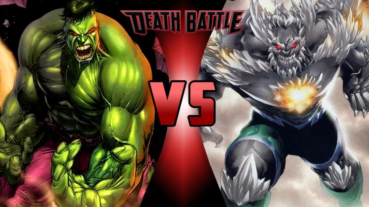 Image - The Incredible Hulk vs. Doomsday.png | DEATH ... Doomsday Vs Hulk Death Battle