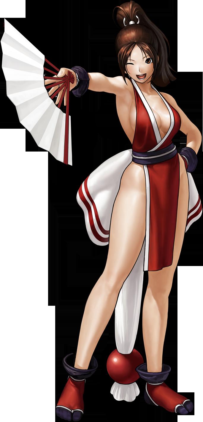 The ideal King of fighters mai shiranui