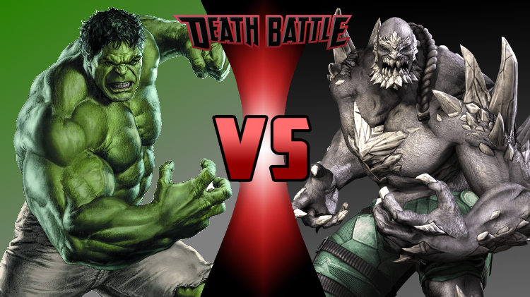 Image - The Incredible Hulk vs Doomsday Ver. 2.png | DEATH ... Red Hulk Vs Doomsday