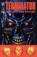 The Terminator - Terminator face as seen on the front cover of Dark Horse Comics
