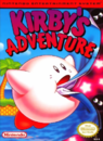 Kirby - Kirby as he appears on the front cover of Kirby's Adventure for the Nintendo Entertainment System