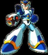 Mega Man X - Mega Man X wearing his First Armor