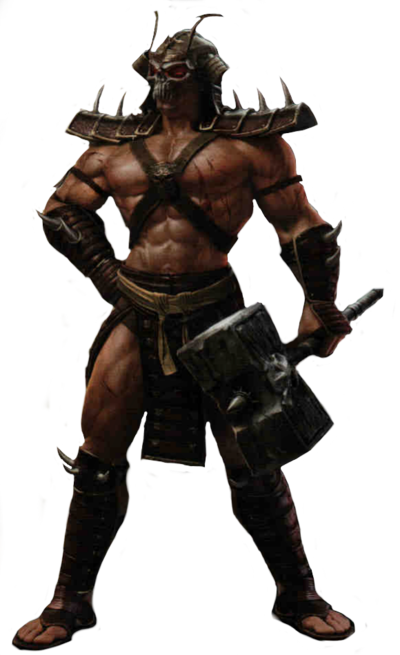 Shao kahn mk2011 render by rpgxplay-d6sf78d