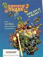 Bucky O'Hair - Bucky O'Hair Arcade Flyer 2