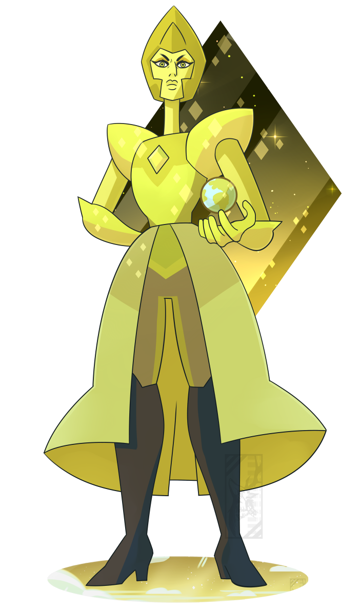 Yellow diamond death battle fanon wiki fandom powered for Yellow diamond mural