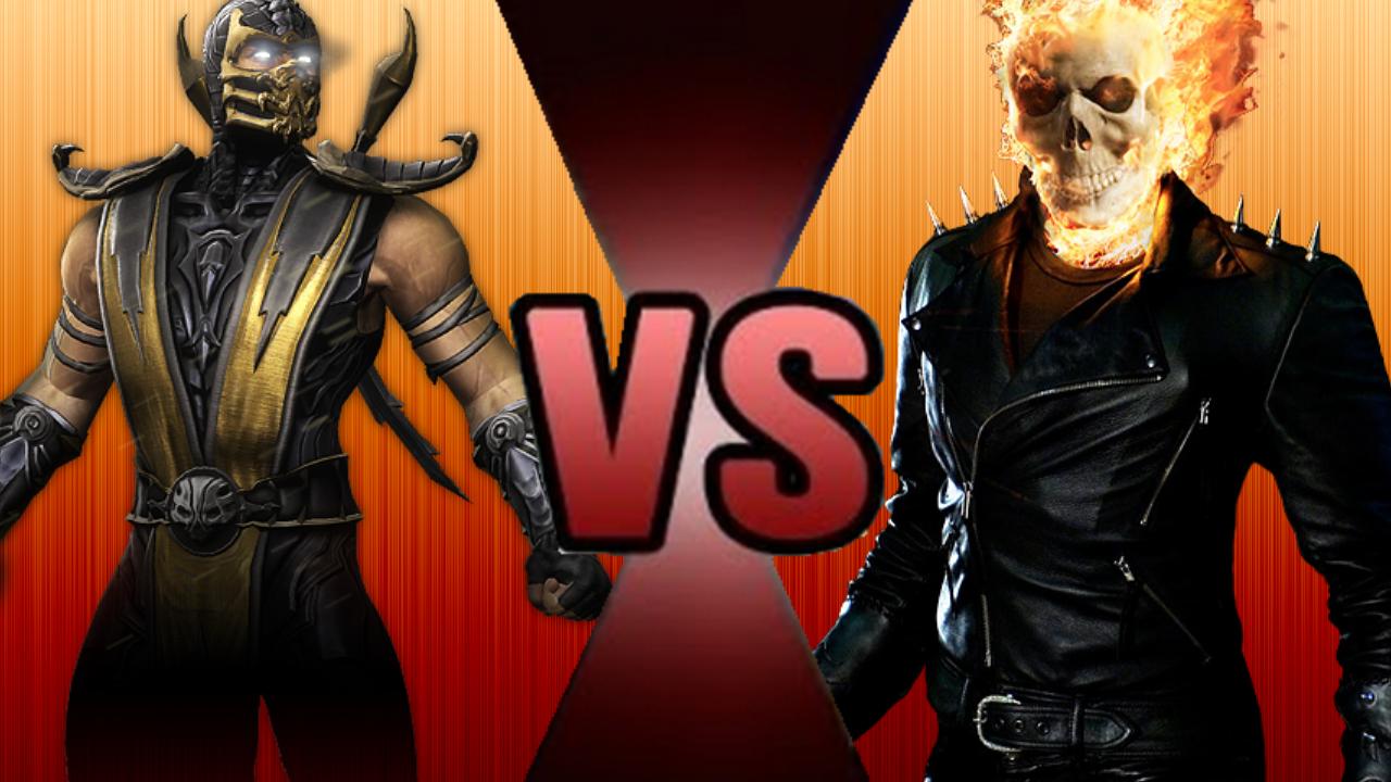 Ghost Rider vs. Scorpion | Death Battle Fanon Wiki ...