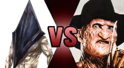 Pyramid Head vs Freddy Krueger