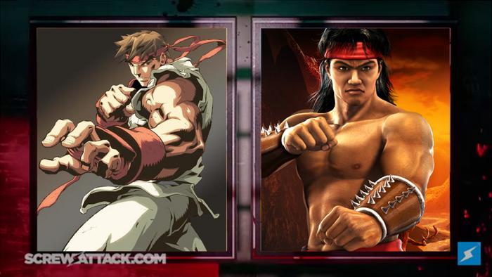 Its Time For a Death Battle! (Ryu vs Liu Kang)