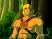 Masters of The Universe - He-Man as seen in the 2002 cartoon