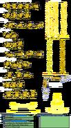 Pikachu DB Sprites